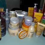 O que eu uso no meu cabelo