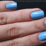 Azul Celeste no Esmalte da Semana