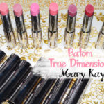 Swatches: Batom True Dimensions Mary Kay/ 8 cores