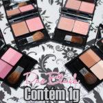 Swatches: Duo blush Contém 1g (várias cores)