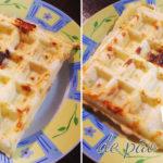 Receita: Waffle de pão de queijo