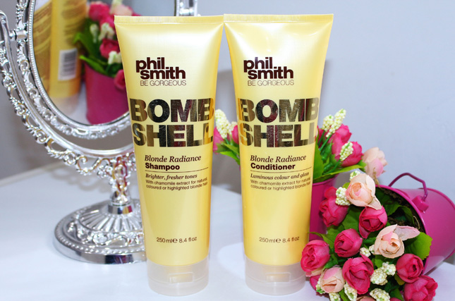 Resenha: Bombshell Blonde Radiance phil smith/ sh e condicionador