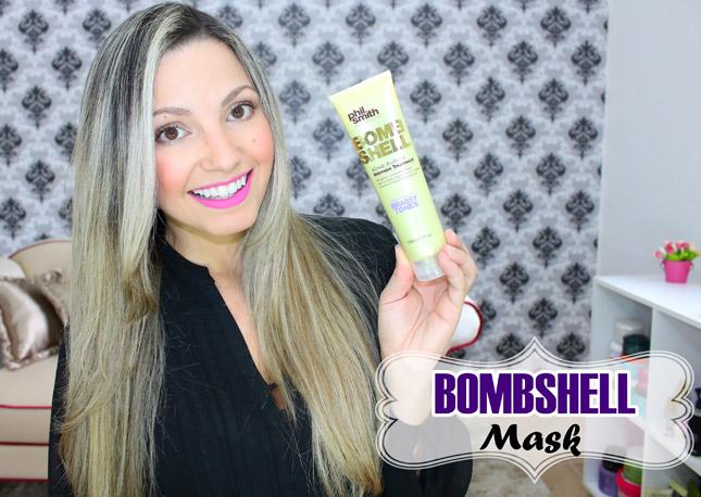 Resenha: Bombsheel Blonde Radiance Phil Smith/ blassy tones mascara