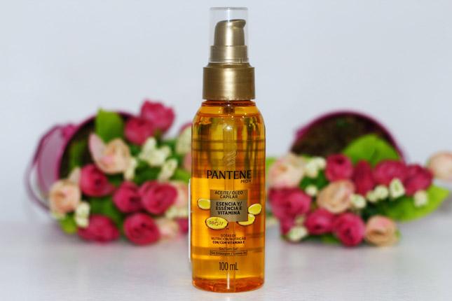 Resenha: oleo capilar Pantene/ essencia e vitamina