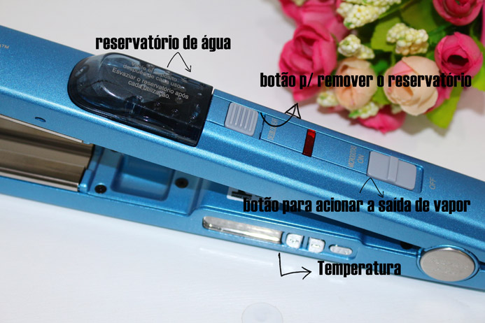 Resenha: Chapinha Babyliss Pro a vapor