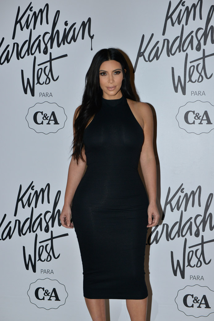 Coleção Kim Kardashian para C&A e fotos do dia do evento