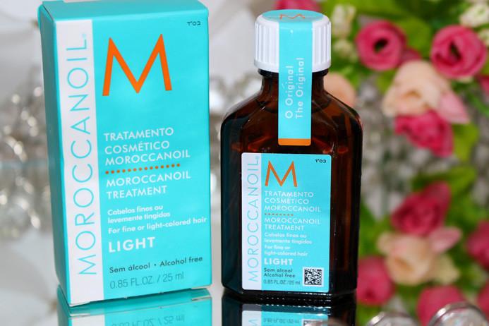 Resenha: Moroccanoil Light oil (ideal para loiras)
