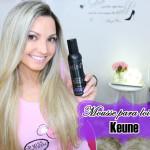 resenha: mousse Keune Blonde enhancing treatment Platinum