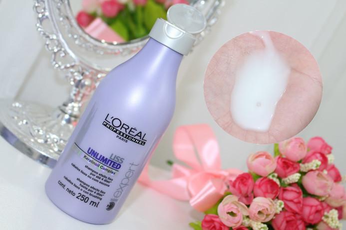 Resenha: linha Liss Unlimited Loreal (shampoo e máscara)