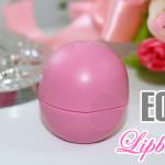 Resenha: EOS Balm Strawberry sorbet (rosa)