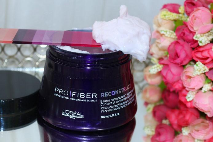 Pro Fiber Reconstruct Loreal: resenha e aplicação passo a passo