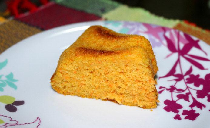 Receita: Bolo de cenoura sem glúten delicioso, fofinho e molhadinho