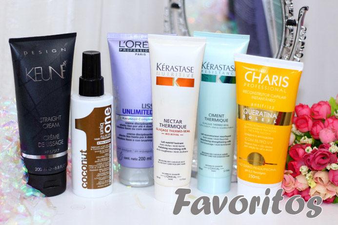 Leave in: preferidos para fazer escova do momento
