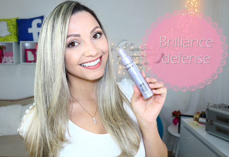 Resenha: Brilliance defense | Spray de brilho Sencience