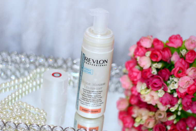 Resenha: Shine Mousse texturizer Revlon Professional