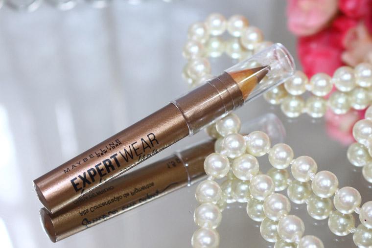 Resenha: sombra em lápis expertwear Maybelline (jumbo) cor cheia de brilho