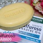 Resenha: sabonete Granado Sulfuroso enxofre