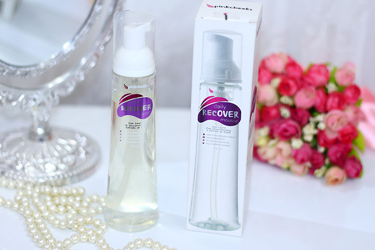 Resenha: Daily Recover Mousse PinkCheeks: espuma de limpeza facial