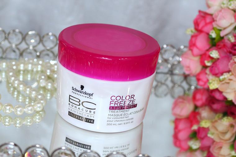 Resenha: Color Freeze Schwarzkopf: shampoo e máscara