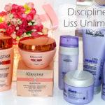 Discipline Kerastase ou Liss Unlimited Loreal: duelo
