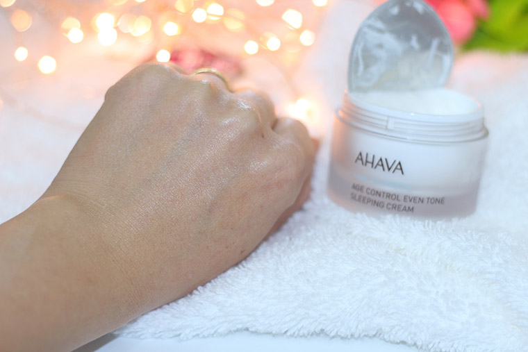 Resenha: Ahava Time To Smooth Sleeping Cream Age Control Even Tone - Creme Anti-Idade Noturno