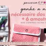 Promoção: necessaire dos sonhos + 6 amostras na Época Cosméticos