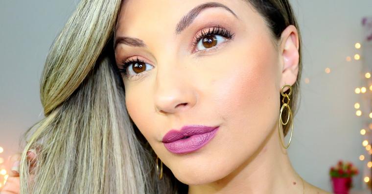 Batom: Rayssa mate Bruna Tavares | Tracta batom líquido matte