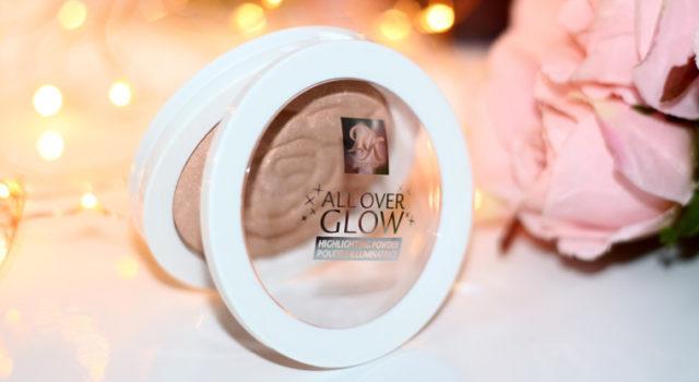 Resenha: iluminador All Over Glow Ruby Kisses cor Champagne Glow | Kiss Nwe York