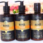 Resenha: INOAR BLENDS collections | shampoo, máscara e leave-in