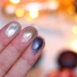 Resenha: Sombras Metalicas Essence Melted Chrome | cores: 01 , 03, 04
